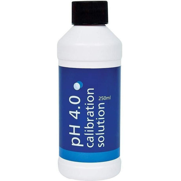 Bluelab® Ph 4.0 Solution 250 Ml Meters | Calibration Solutions
