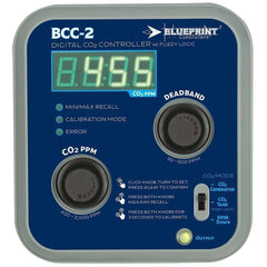Blueprint Controllers® Digital CO2 Controller with Fuzzy Logic, BCC-2