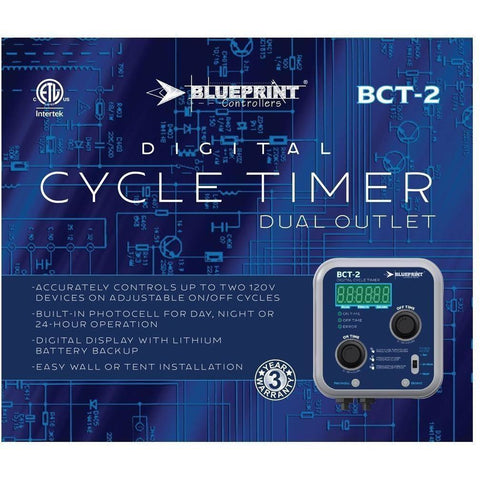 Cycle timers blueprint controllers digital cycle timer bct 2 malvernweather Images