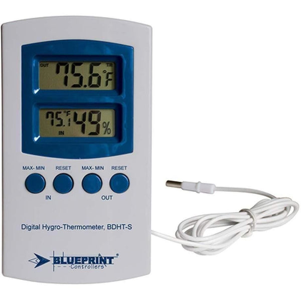 Blueprint Controllers® Digital Hygro-Thermometer Small Bdht-S Thermometers | Hygrometers