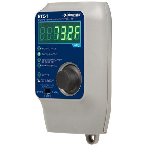 Blueprint Controllers® Digital Temperature Controller, BTC-1