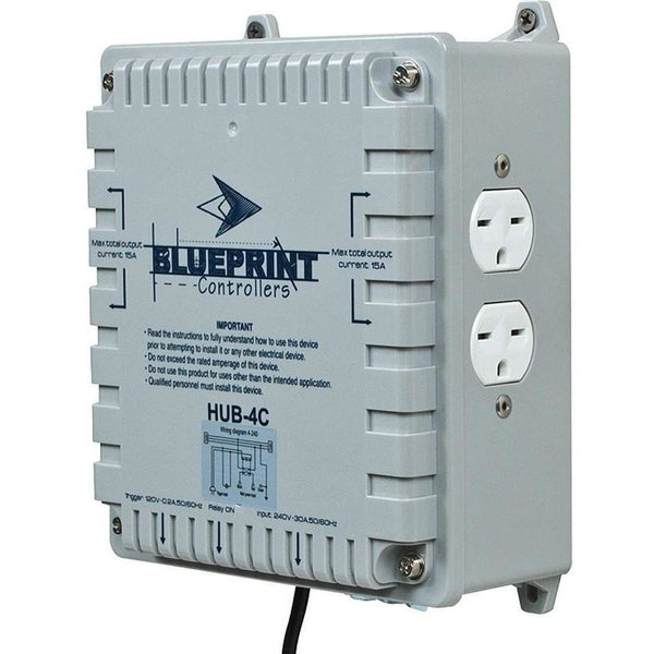 Blueprint Controllers® Hid Hub 4 Site Hub-4C Controllers | Lighting