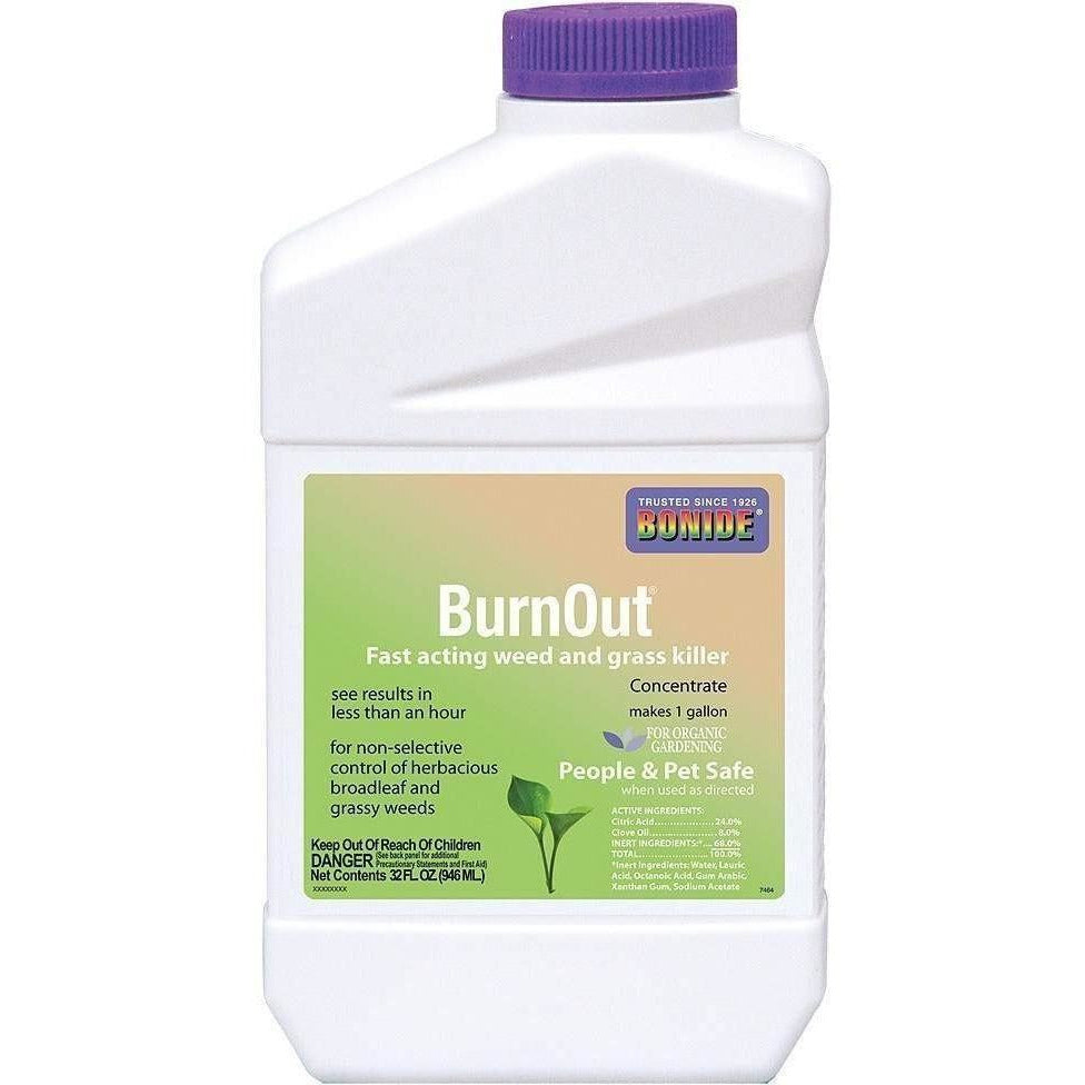 Bonide® BurnOut® Weed & Grass Killer Concentrate, qt