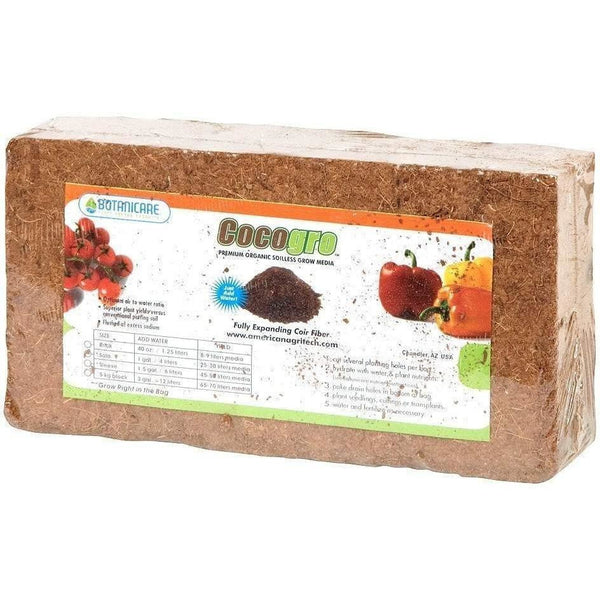 Botanicare® Cocogro® Coir Brick 650 Gm Grow Media | Coco