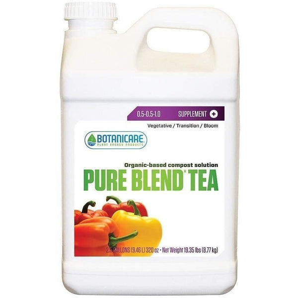 Botanicare® Pure Blend® Tea 2.5 Gal Nutrients | Liquid