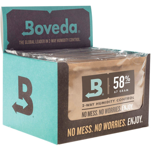 Boveda® 2-Way Humidity Packs 67g, 58% | Pack of 12