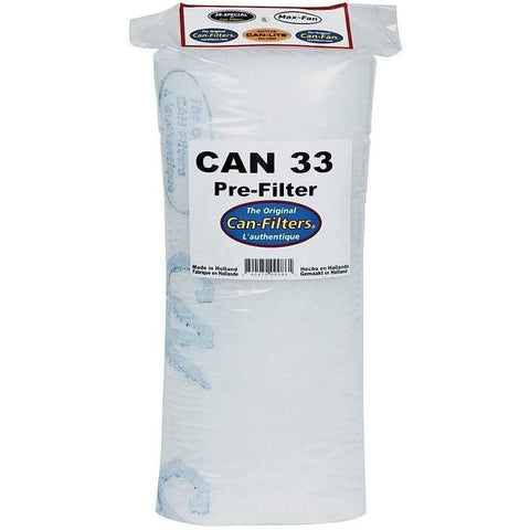 Can-Filters® 33 Pre-Filter, 200 cfm