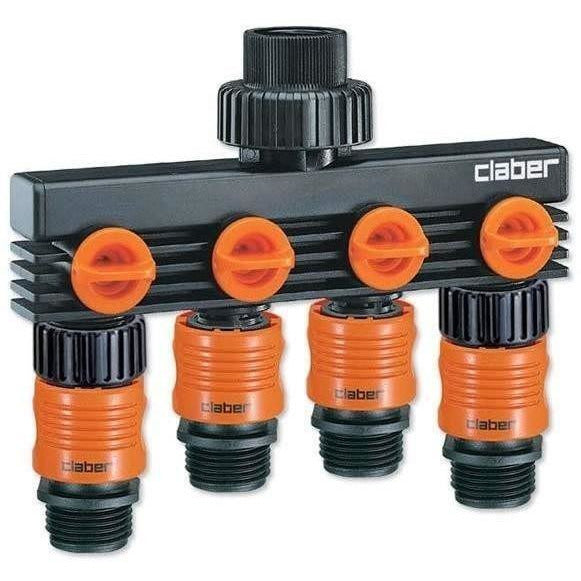 Claber® 4-Way Faucet Distributor