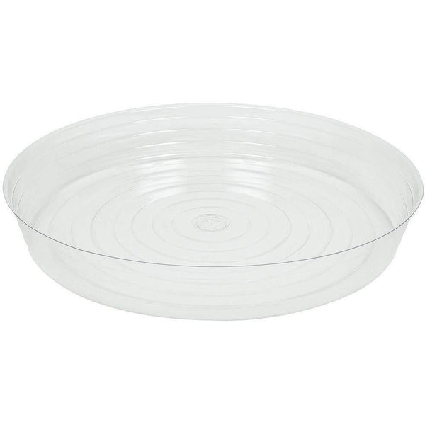 Clear Vinyl Saucer Deep 21 Containers | Saucers