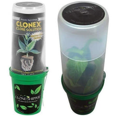 Clone Shipper™ Secure Live Plant Package with LED Grow Light