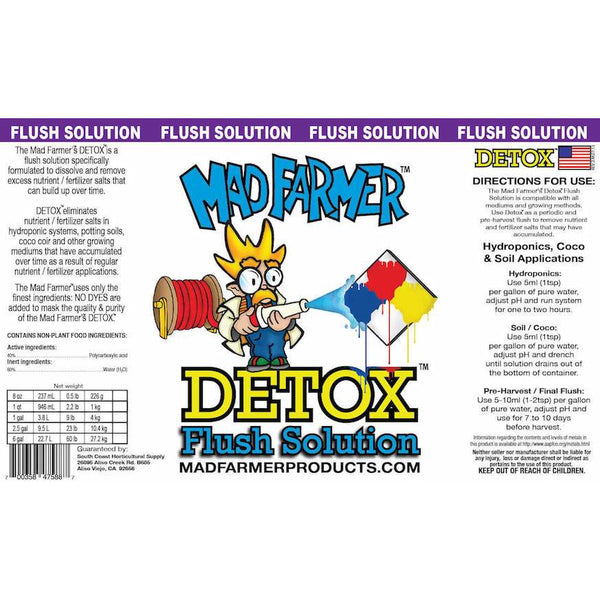 Mad Farmer™ Detox™, 2.5 gal | Special Order Only