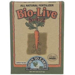 Down To Earth™ Bio-Live, 5 lb