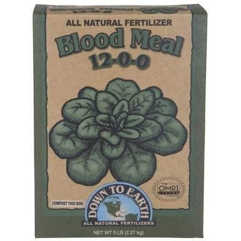 Down To Earth Blood Meal 5 Lb Nutrients | Granular & Powder