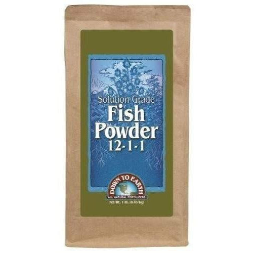 Down To Earth Fish Powder 1 Lb Nutrients | Granular &