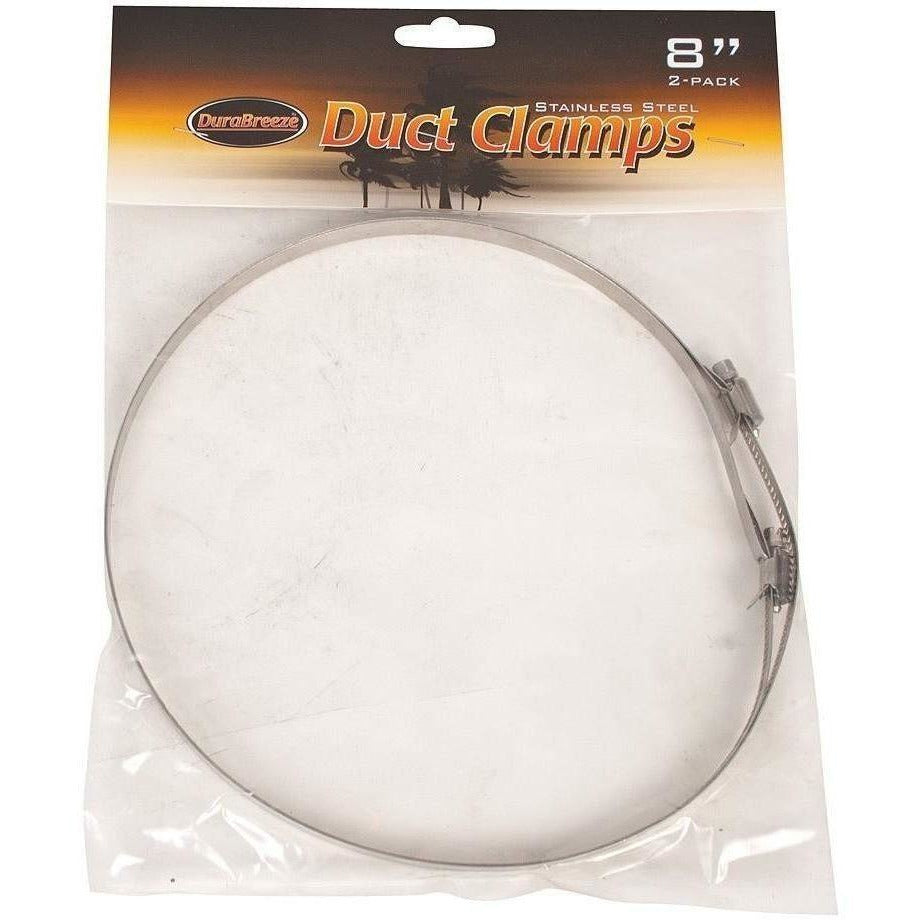 DuraBreeze® Duct Clamp 8"