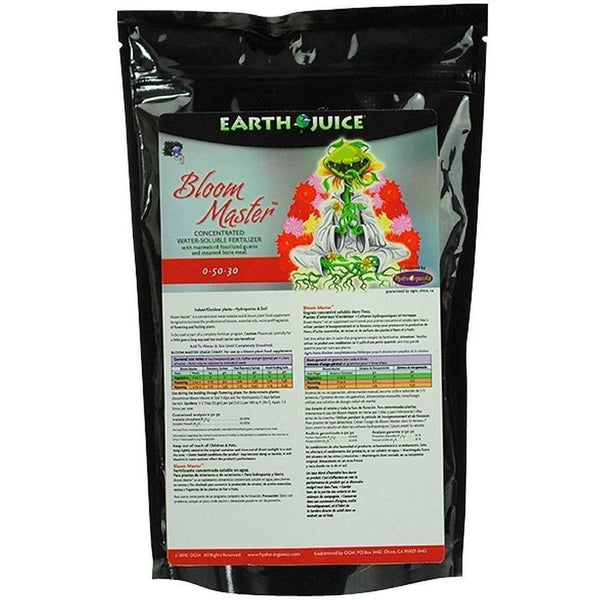 Earth Juice® Bloom Master 3 Lb Nutrients | Granular & Powder