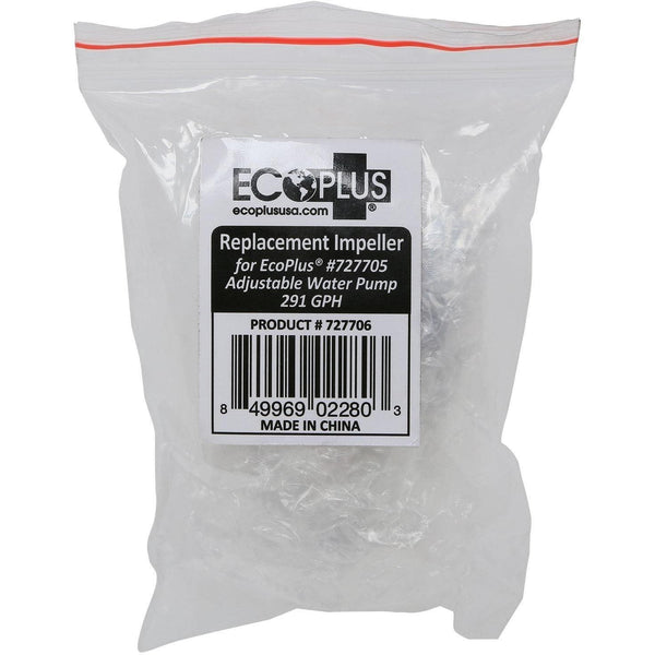 Ecoplus® Adjustable Water Pump 291 Gph Replacement Impeller Parts