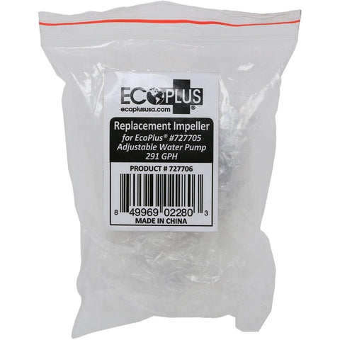 EcoPlus® Adjustable Water Pump 291 GPH Replacement Impeller