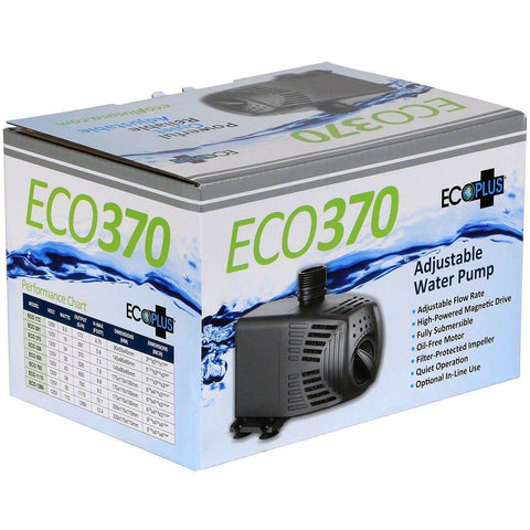EcoPlus® Adjustable Water Pump, 370 GPH