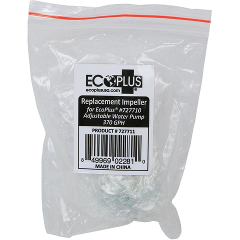 EcoPlus® Adjustable Water Pump 370 GPH Replacement Impeller