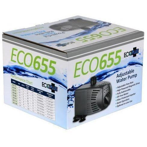 Ecoplus® Adjustable Water Pump 655 Gph Pumps