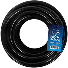 "Elemental Solutions® H2O Black Tubing, 1/2"", 100'"