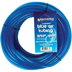 "Elemental Solutions® O2 Blue Air Tubing 3/16"", 100'"