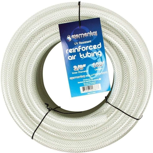 Elemental Solutions® O2 Reinforced Air Tubing 3/8 100 Water Aeration | Hose