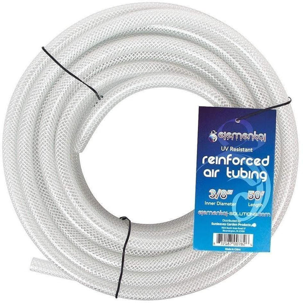 Elemental Solutions® O2 Reinforced Air Tubing 3/8 50 Water Aeration | Hose