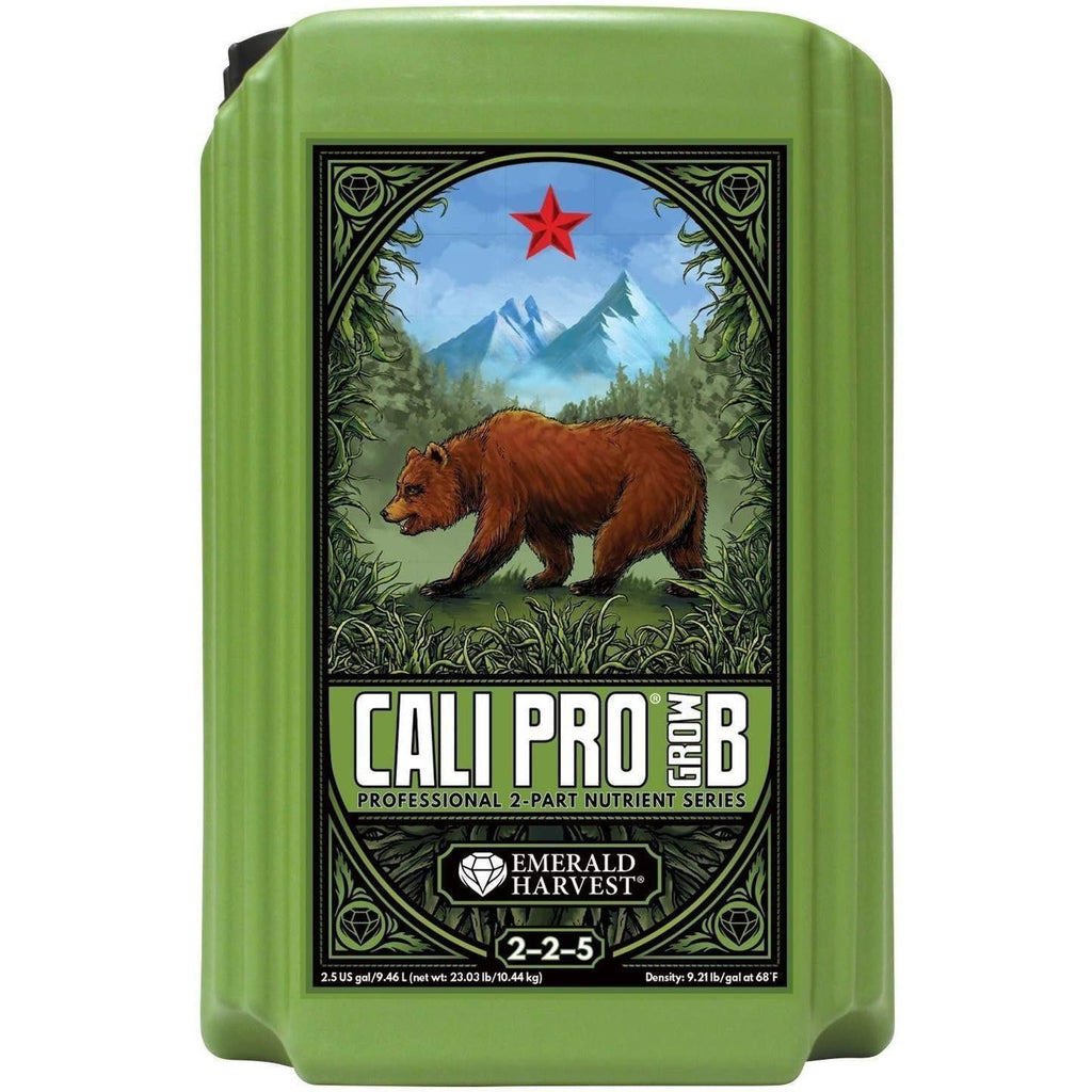 Emerald Harvest® Cali Pro® Grow B, 2.5 gal