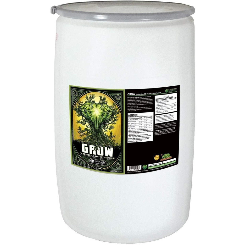 Emerald Harvest® Grow, 55 gal | Special Order Only