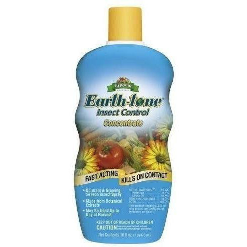 Espoma Earth-Tone Insect Control Concentrate Plant Pests |