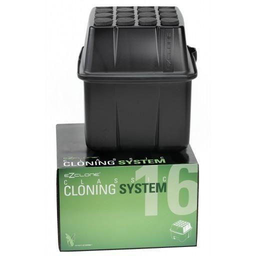 EZ-CLONE® Low Pro Black, 16 Site