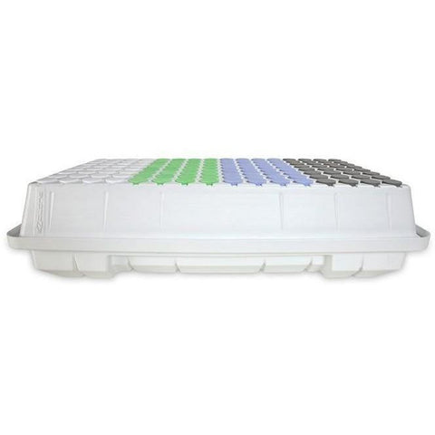 EZ-CLONE® Low Pro Lid and Reservoir Set White, 128 Site | Special Order Only