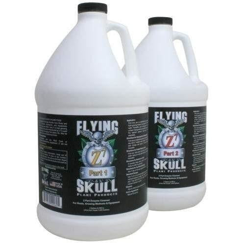 Flying Skull Z7 Enzyme Cleanser Gal Hydroponics | Cleaners & Treatments