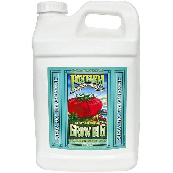 Foxfarm® Grow Big® Hydroponic 2.5 Gal Nutrients | Liquid