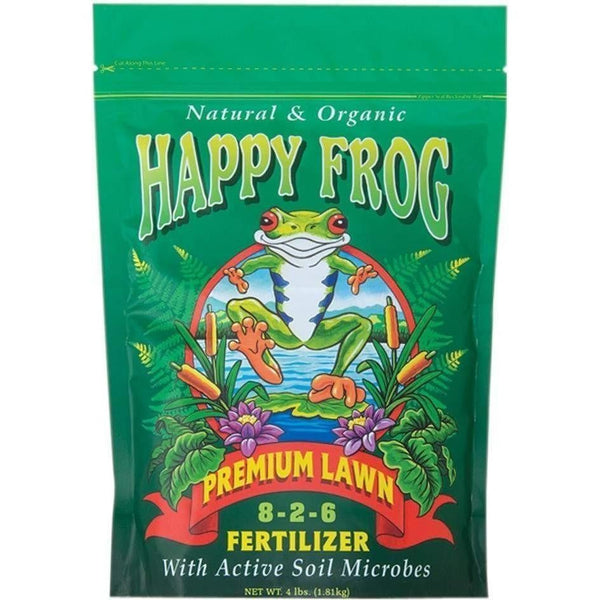Foxfarm® Happy Frog® Premium Lawn 4 Lb Nutrients | Granular & Powder