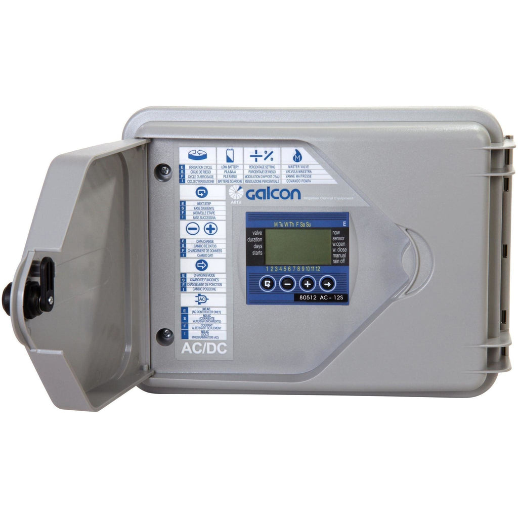 Galcon Twelve Station Outdoor Wall Mount Irrigation, Misting and Propagation Controller