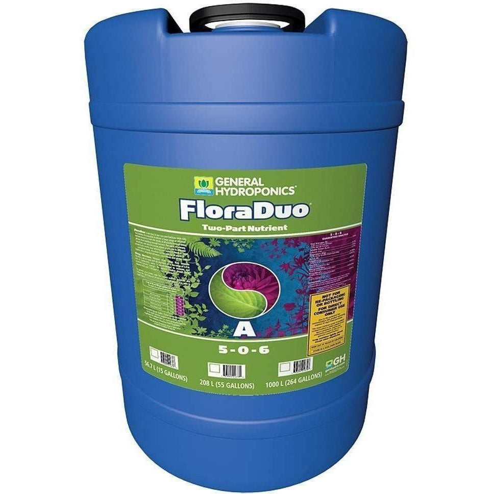 General Hydroponics® FloraDuo® A, 15 gal | Special Order Only