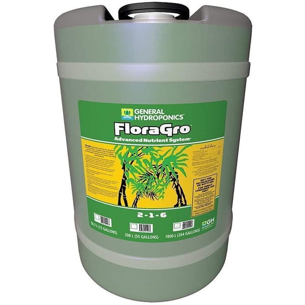 General Hydroponics® Floragro® 15 Gal Nutrients | Liquid