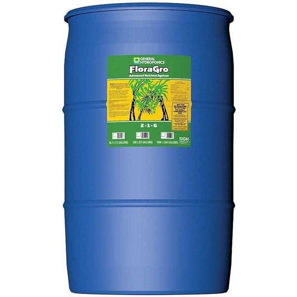 General Hydroponics® Floragro® 55 Gal | Special Order Only Nutrients Liquid