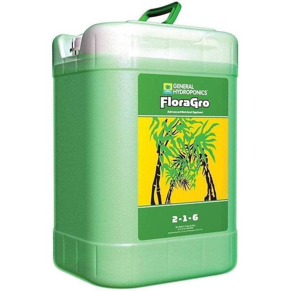 General Hydroponics® Floragro® 6 Gal Nutrients | Liquid