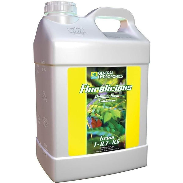 General Hydroponics® Floralicious® Grow 2.5 Gal Nutrients | Liquid