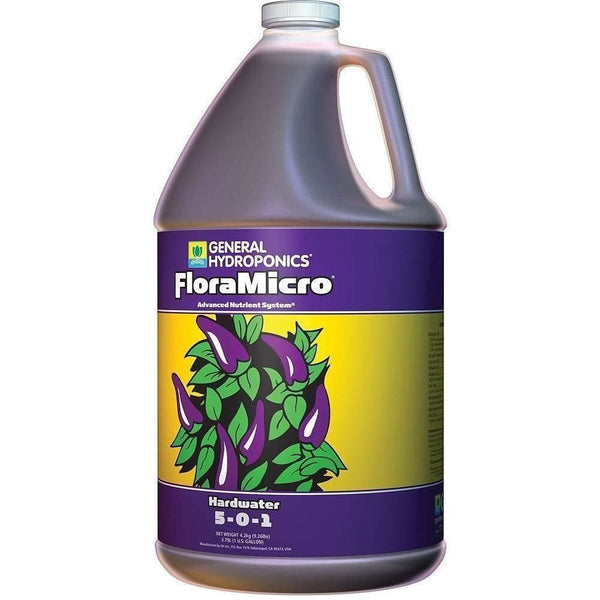General Hydroponics® FloraMicro® Hardwater, gal