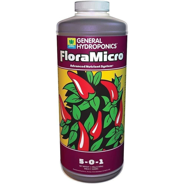 General Hydroponics® Floramicro® Qt Nutrients | Liquid