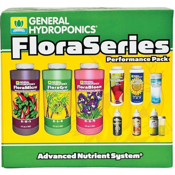 General Hydroponics® Floraseries® Performance Pack Nutrients | Liquid