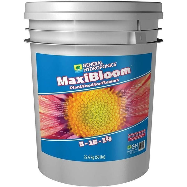 General Hydroponics® Maxibloom 50 Lb | Special Order Only Nutrients Granular & Powder