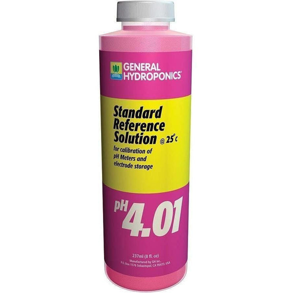 General Hydroponics® Ph Calibration 4.01 Solution 8 Oz Meters | Solutions