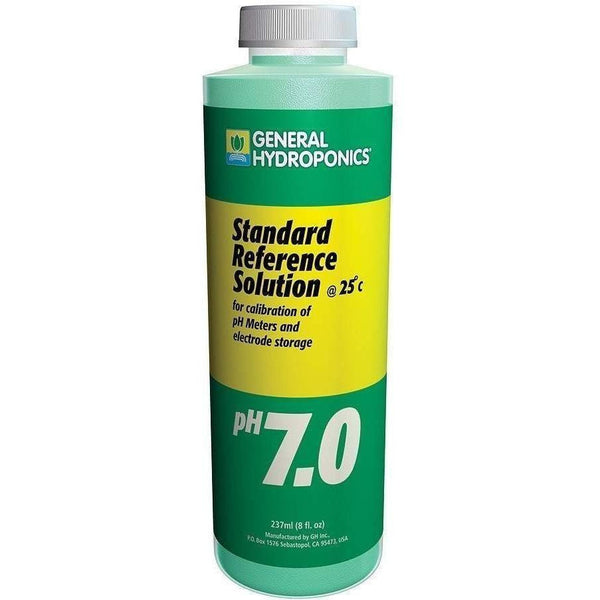 General Hydroponics® Ph Calibration 7.0 Solution 8 Oz Meters | Solutions