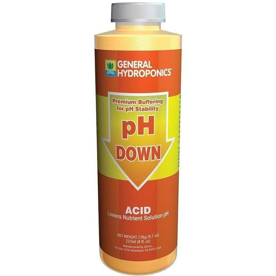 General Hydroponics® pH Down, 8 oz